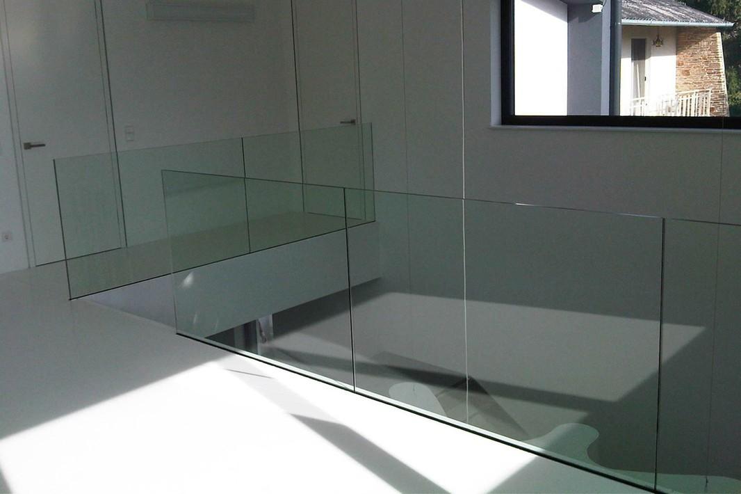 Galer a serie protec glass barandillas de vidrio - Barandillas de cristal para terrazas ...